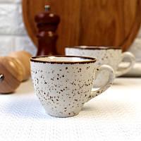 Фарфорова чашка для кави Kutahya Porselen Atlantis 80 мл (CR3708)