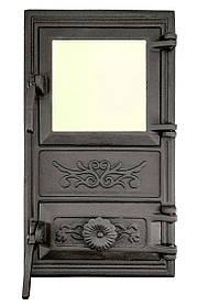 Дверца для печи со стеклом и регулировкой подачи воздуха 102922
