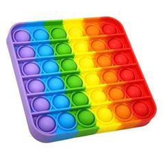 Сенсорная игрушка антистресс ПУШ АП пузырь для взрослых и детей Pop It (квадрат)