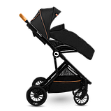 Прогулянкова коляска Lionelo DANI BLACK ONYX, фото 2