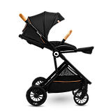 Прогулянкова коляска Lionelo DANI BLACK ONYX, фото 4