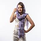 Тоненький бавовняний шарф  190х70см, фото 4