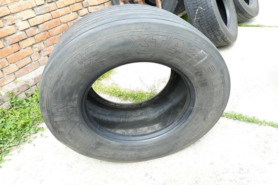 Шины б.у. 445.45.r19.5 Michelin XTA2 Energy Мишлен . Резина бу для грузовиков и автобусов