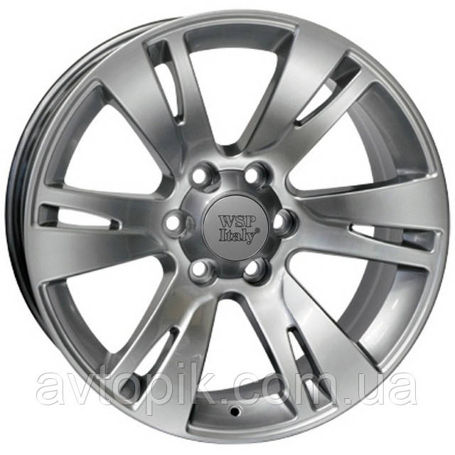 Литі диски WSP Italy ForToyota (W1765) Venere R20 W9.5 PCD6x139.7 ET20 DIA106.1 (hyper silver)