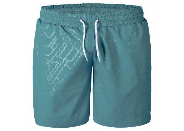 Мужские купальные шорты анатомические, бирюзовый