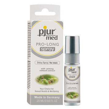 Пролонгирующий спрей pjur MED Prolong Spray 20 мл с натуральным экстрактом дубовой коры и пантенолом Bomba💣