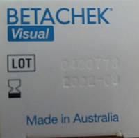 Тест-полоски Бетачек визуальные (BetaChek), 50шт, фото 1