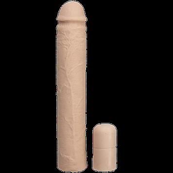 Насадка на член Doc Johnson Xtend It Kit White, удлиняющая (до +7,6 см) и утолщающая (до +1,2 см) Bomba💣