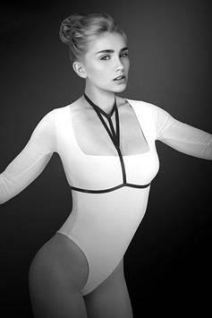 Портупея на грудь Bijoux Pour Toi - MIA, эластичный полиэстер Bomba💣