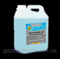 Средство для снижения уровня pH воды в бассейне Silver Life pH Minus, 5 л