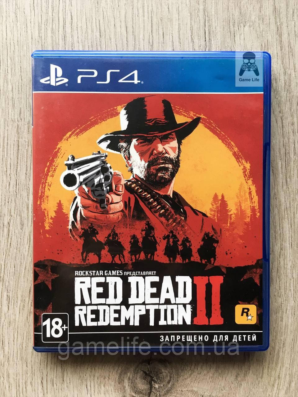 Red Dead Redemption 2 (русские субтитры) (б/у) PS4/PS5