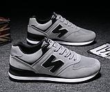 Кроссовки серые в стиле New Balance 520, фото 2