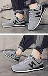 Кроссовки серые в стиле New Balance 520, фото 4