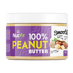 Арахисовая паста OstroVit 100% Peanut Butter 500 грамм smooth