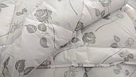 Одеяло 155х215 PREMIUM AERO LOTUS тик 215.0, Тик, Полуторное, Светло-серый, 155.0