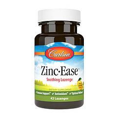 Цинк Carlson Labs Zinc Ease 42 пастилки