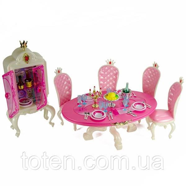 """Набор кукольной мебели Gloria 1212 """"Столовая"""""""