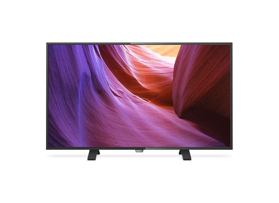 Телевизор Philips 43PUH4900/88 (400Гц, Ultra HD 4K)