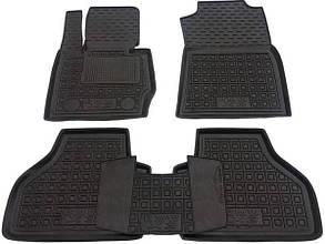 Полиуретановые (автогум) коврики в салон BMWX3 (F25) 2010+ / Коврики БМВ Х3 (Ф25) 2010+