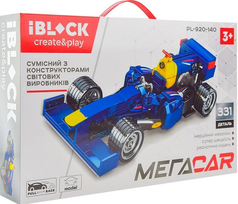 Конструктор Формула 1, Red Bull Racing Болид RB7, 331 деталь, IBLOCK PL-920-140