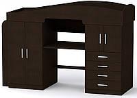 Кровать Универсал-2 венге темный Компанит (207,6х74,4х104,8 см)