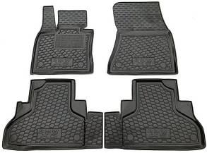 Полиуретановые (автогум) коврики в салон BMW / БМВ X5 (F15) 2013+