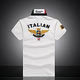Aeronautica Militare original РІЗНІ кольори чоловіча футболка поло аеронавтика милитаре, фото 4