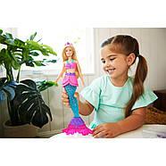 Лялька Барбі Русалка Русалочка зі слаймом Дрімтопія Неймовірні кольори Barbie Dreamtopia Slime Mermaid GKT75, фото 6