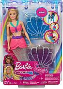 Лялька Барбі Русалка Русалочка зі слаймом Дрімтопія Неймовірні кольори Barbie Dreamtopia Slime Mermaid GKT75, фото 7