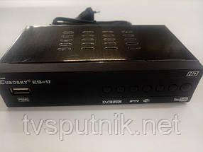 Эфирный тюнер Eurosky ES-17 (DVB-T2)