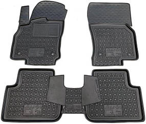 Полиуретановые (автогум) коврики в салон Audi Q3 2020