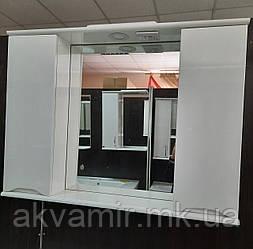 Зеркало в ванную Марко Николь 95 см (два шкафчика)