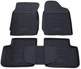Полиуретановые (автогум) коврики в салон BYD / Бад -  F3 2005+ (МКПП)