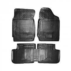 Полиуретановые (автогум) коврики в салон BYD / Бад F3 2005+ (АКПП)
