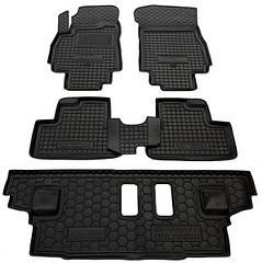 Полиуретановые (автогум) коврики в салон Chevrolet / Шевролет - Orlando / Орландо 2011- (7 мест)
