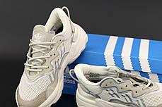 Женские кроссовки Adidas Ozweego. Beige бежевый.. ТОП Реплика ААА класса., фото 3