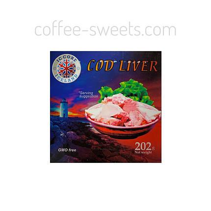 Печень трески COD LIVER  202 гр Исландия, фото 2