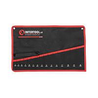 Чехол для гаечных ключей 15 карманов INTERTOOL BX-9015