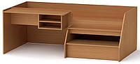 Кровать Универсал-3 бук Компанит (194,2х72х106,6 см)
