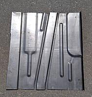 Панель підлоги задня (пол задній, короткий) ВАЗ-2110, 2111, 2112,2170,2171,2172 ліва, фото 1