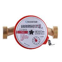 """Счетчик горячей воды ECOSTAR DN15 1/2"""" L110 E-C 2,5"""