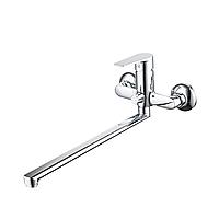 Смеситель LIRI Ø35 для ванны излив прямой 350мм дивертор встроенный картриджный CORSO (DF-2C240C) (9632210)