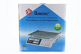 Ваги Domotec CK 982S Metal Button 50kg/5g