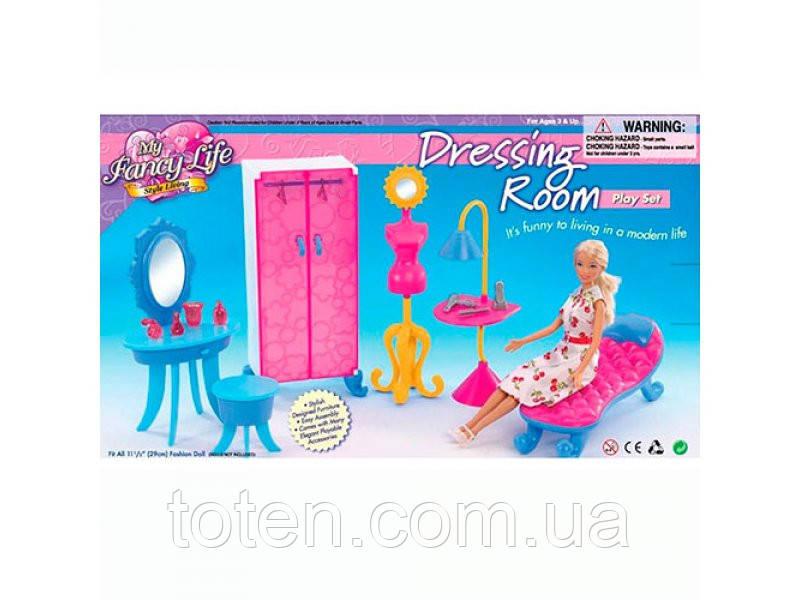 """Набор кукольной мебели Gloria 2909 """"Гардеробная"""""""