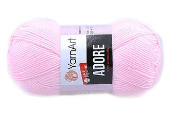 YarnArt Adore, Розовый зефир №361