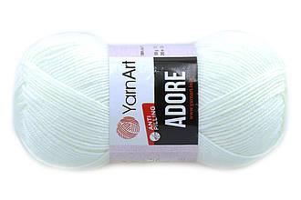 YarnArt Adore, Белый №330