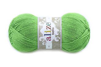 Alize Bella 100, Зеленый №492