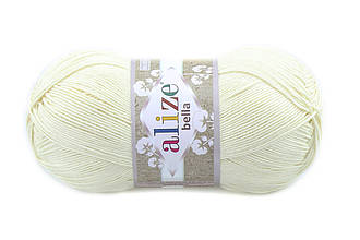Alize Bella 100, Кремовый №01