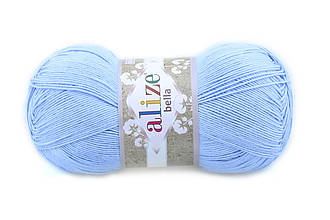 Alize Bella 100, Голубой №40