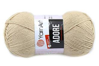 YarnArt Adore, Кофейная пенка №336
